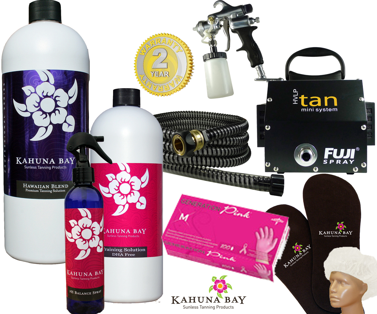 Kahuna Bay Tan - Spray Tan Solutions