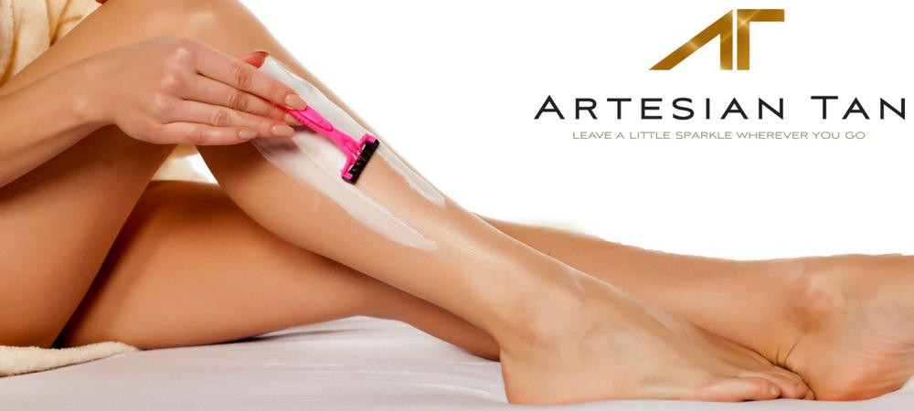 Shaving After Spray Tan Is It A Good Idea Artesian Tan
